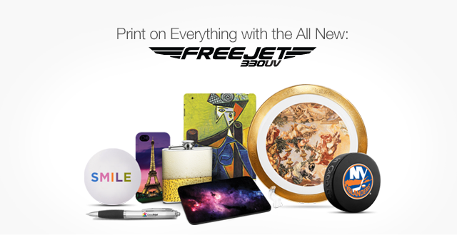 Print on Everything with the All New Freejet 330UV